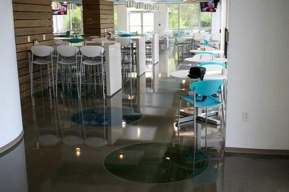 polished concrete denver