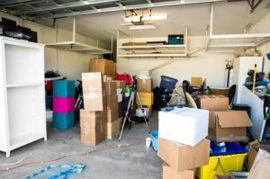 take everything out of garage